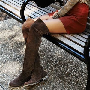 Free People Over the Knee Boot